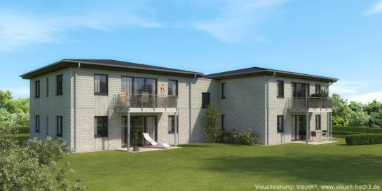 Architekturvisualisierung Neubau in Husum