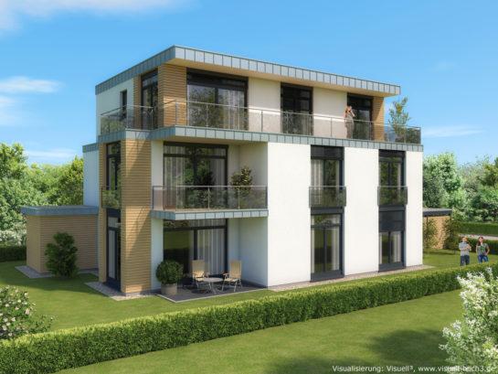 Architekturvisualisierung Wohnhaus in Kaltenkirchen