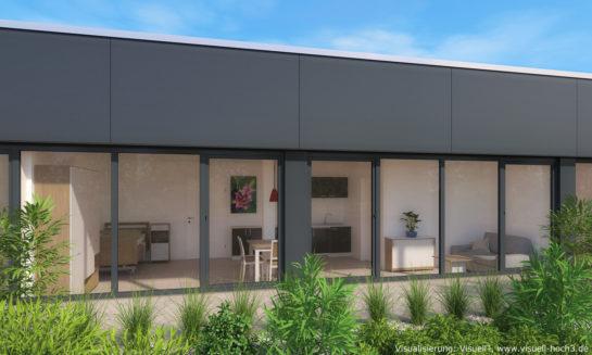 Hannover: Innenraumvisualisierung Appartement