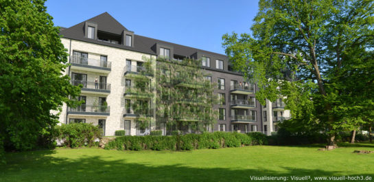 3D-Visualisierung Mehrfamilienhaus in Flensburg