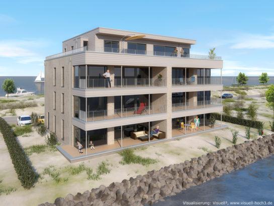 Architekturvisualisierung Mehrfamilienhaus in Kappeln