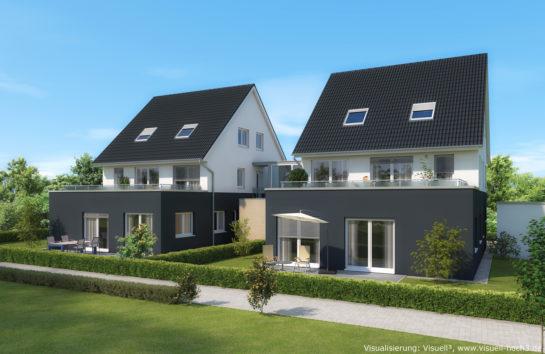 Architekturvisualisierung Wohnhaus bei Nürnberg