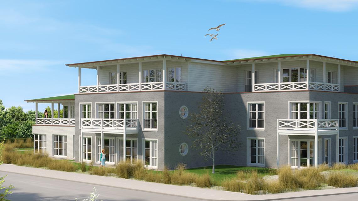Mehrfamilienhaus-Planung in List auf Sylt