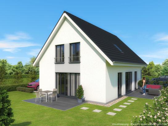 3D-Visualisierung Einfamilienhaus in Lübeck