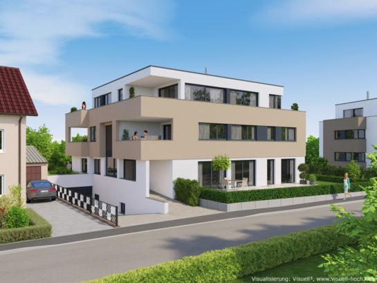 Architekturvisualisierung Wohnhaus in Bönnigheim