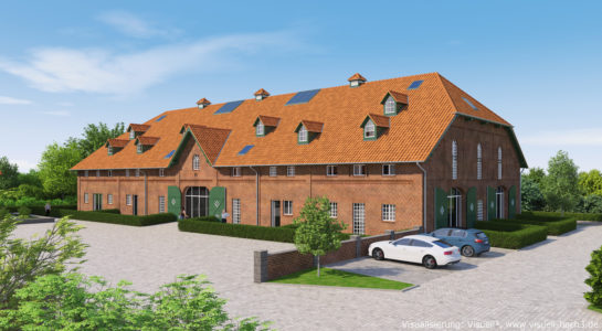 Architekturvisualisierung - Denkmalgeschütztes Gebäude in Eutin