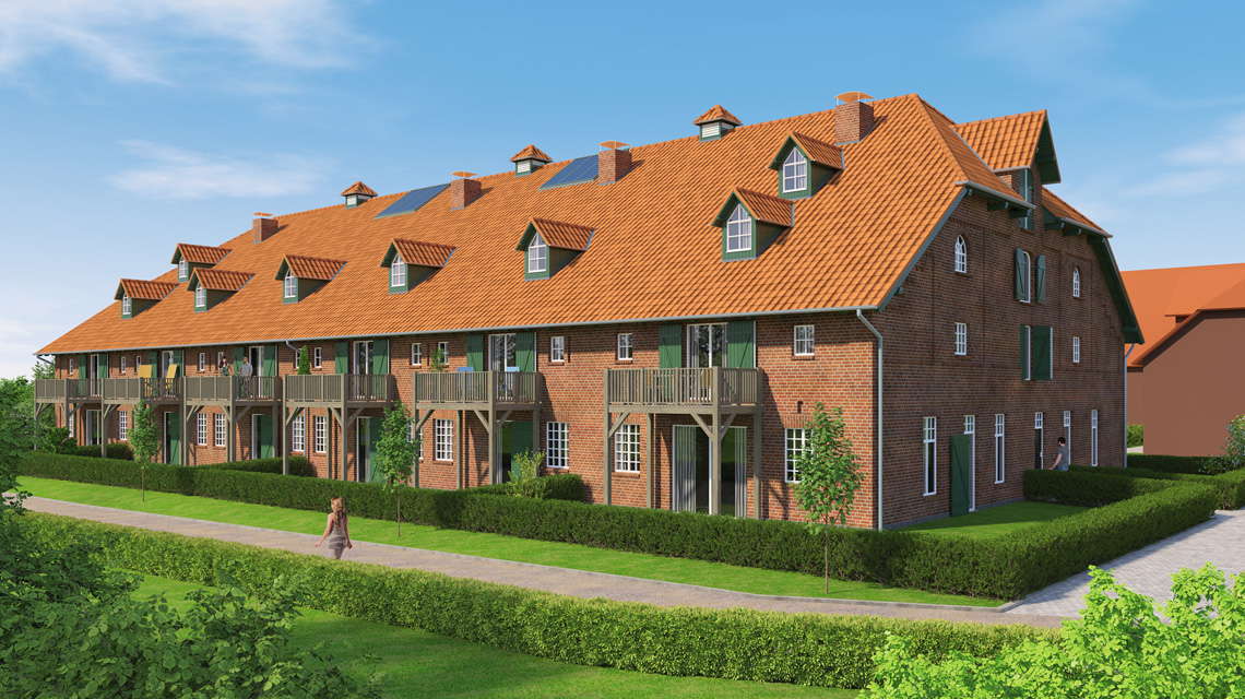 Architektur-Visualisierung denkmalgeschütztes Gebäude in Eutin