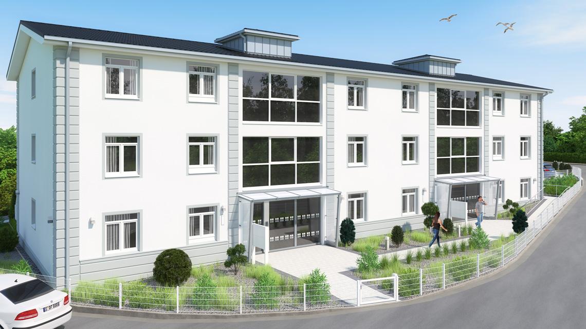 Architekturvisualisierung Kiel-Pries