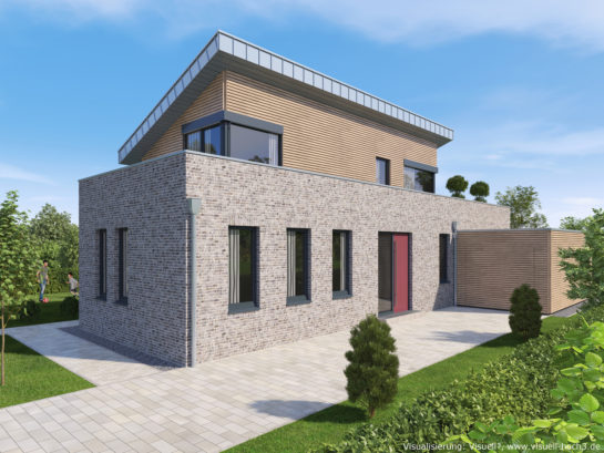 Architekturvisualisierung Einfamilienhaus in Heinsberg